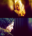 Jon and Dany - jon-and-daenerys fan art