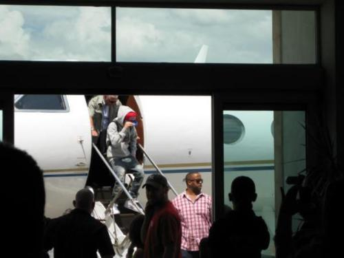 Justin Arriving in Mexico