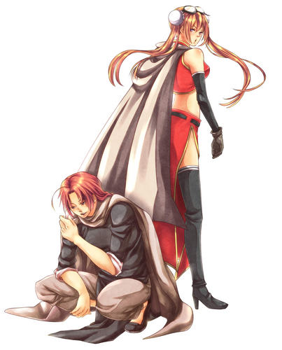 Kamui and Kagura