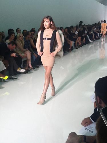 Kanye West's Paris Fashion Week toon Debut