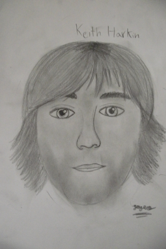 Keith Harkin (well that's who it is suppose to be anyways.)