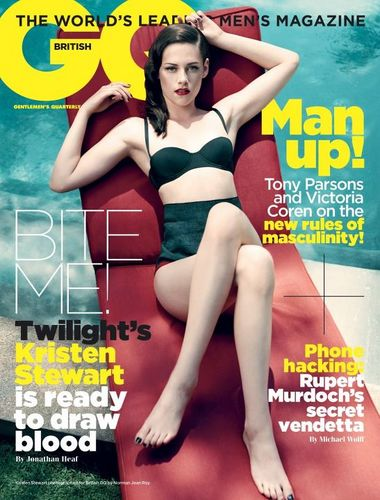 Kristen Stewart covers british GQ!