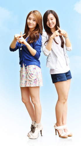 Krystal and Kim Ji won