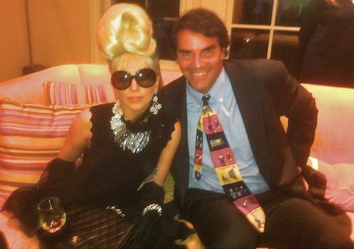 Lady GaGa at Obama's رات کے کھانے, شام کا کھانا night (09/25/11)