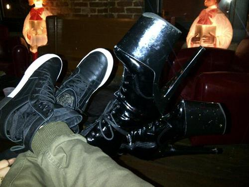 Lady Gaga and Michael Trevino (shoes only)