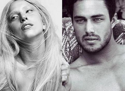 Lady Gaga and Taylor Kinney!<3