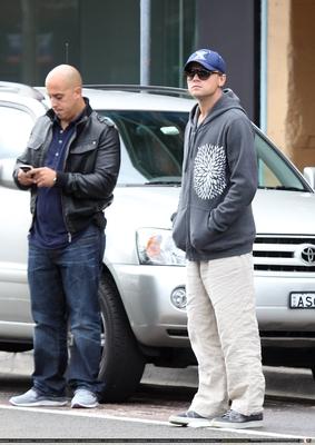 Leo enjoys a stroll along oxford rue in Sydney, Australia