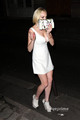 Lindsay Lohan: Upskirt as she leaves a Club in Paris, Sep 30 - lindsay-lohan photo
