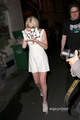 Lindsay Lohan: Upskirt as she leaves a Club in Paris, Sep 30