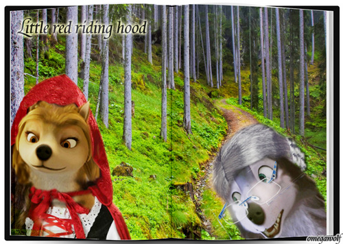 Little red riding hood! XD