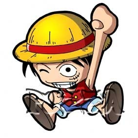 One Piece kertas dinding containing Anime called Luffy