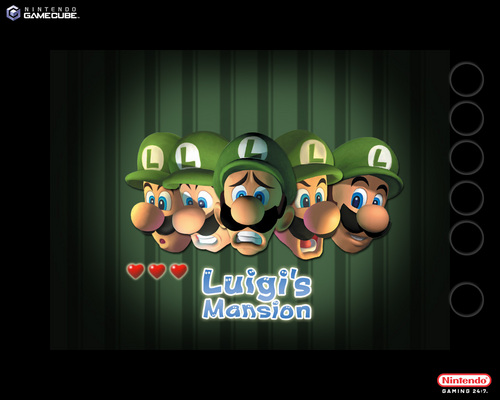 Luigi wallpaper entitled Luigi's Mansion