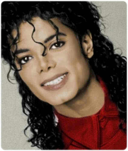 The Bad Era achtergrond containing a portrait titled MICHAEL