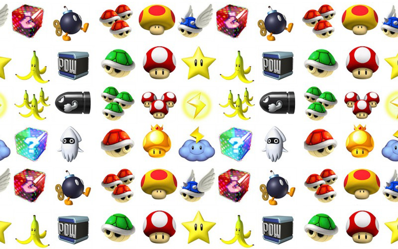 Nintendo Bilder Mario Items Hd Hintergrund And Background
