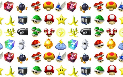 Nintendo wallpaper called Mario Items