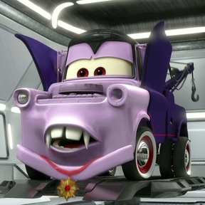 Cars 2 (Disney-Pixar) fond d'écran containing an automobile called Mater the Vampire