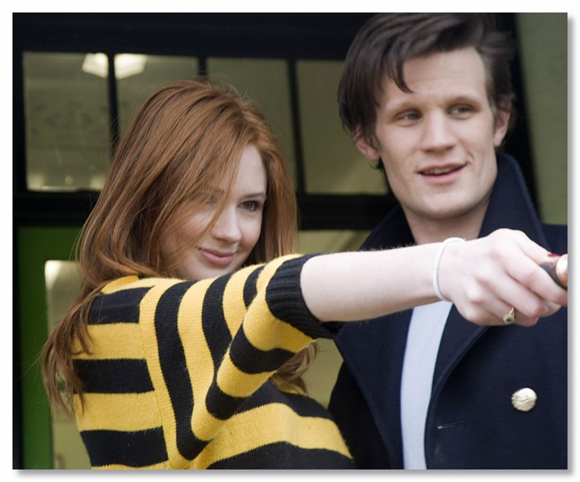Karen Gillan and Matt Smith images Matt and Karen HD ...