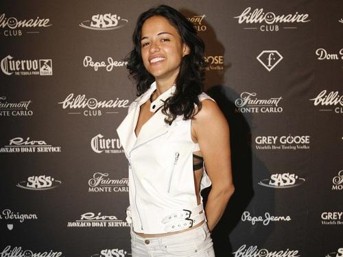 Michelle Rodriguez achtergrond