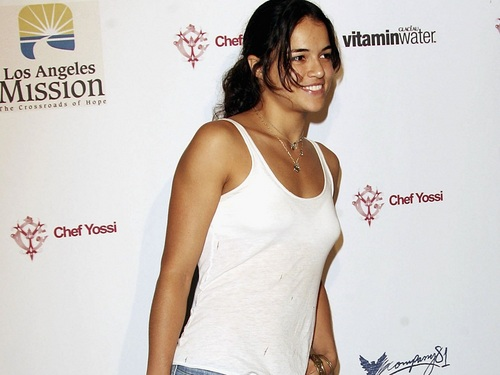Michelle Rodriguez hình nền probably containing attractiveness and a portrait entitled Michelle Rodriguez hình nền