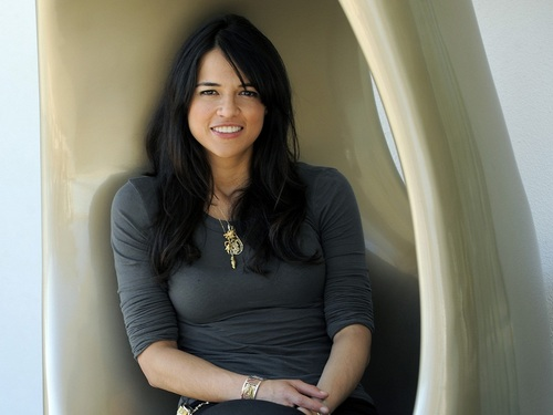 michelle rodriguez wallpaper possibly containing a hot tub and a well dressed person titled Michelle Rodriguez wallpaper
