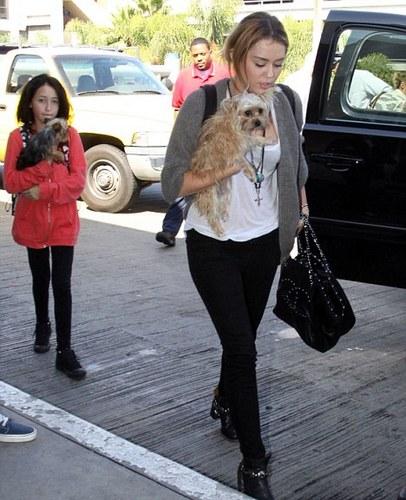 Miley Cyrus trip to Nashville.