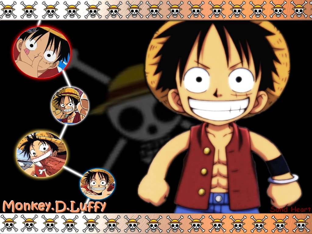 Monkey D Luffy One Piece Wallpaper 25736317 Fanpop