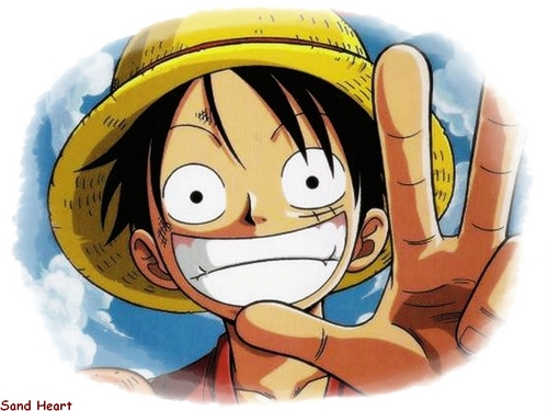 One Piece kertas dinding called Monkey D.Luffy