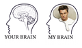 My brain - leonardo-dicaprio fan art