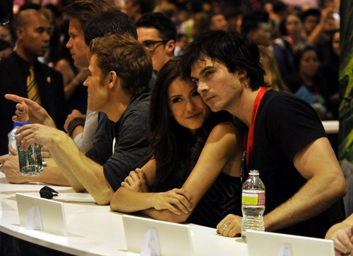 NIAN♥ - ian-somerhalder-and-nina-dobrev Fan Art