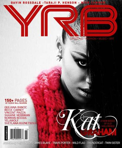 New scan; Kat on the cover of YRB magazine - October 2011!