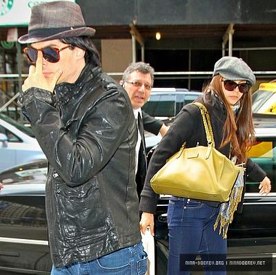 Nina Arriving in NYC