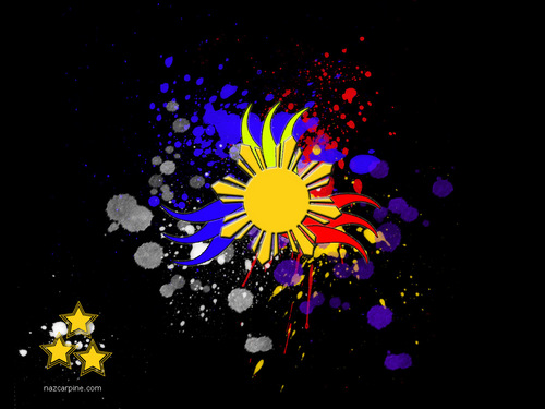 The Philippines wallpaper containing a blue eyed african daisy, a common daisy, and an african daisy titled Philippines wallpaper theme