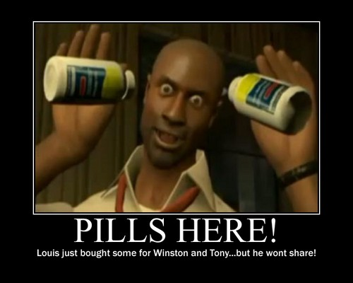 Pills for Tony and Winston