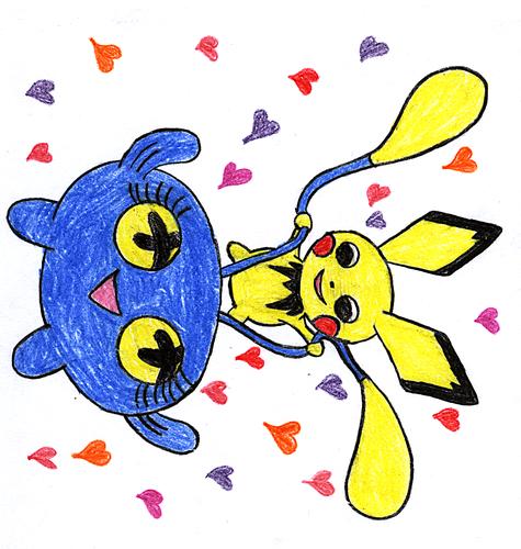 Pokemon Couples - Drawn 의해 me