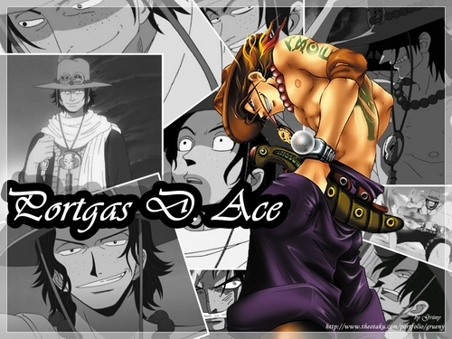 Portgas D.Ace - one-piece Wallpaper