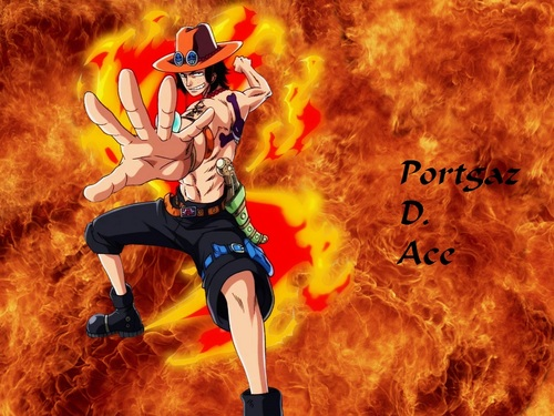 One Piece fond d'écran called Portgas D.Ace