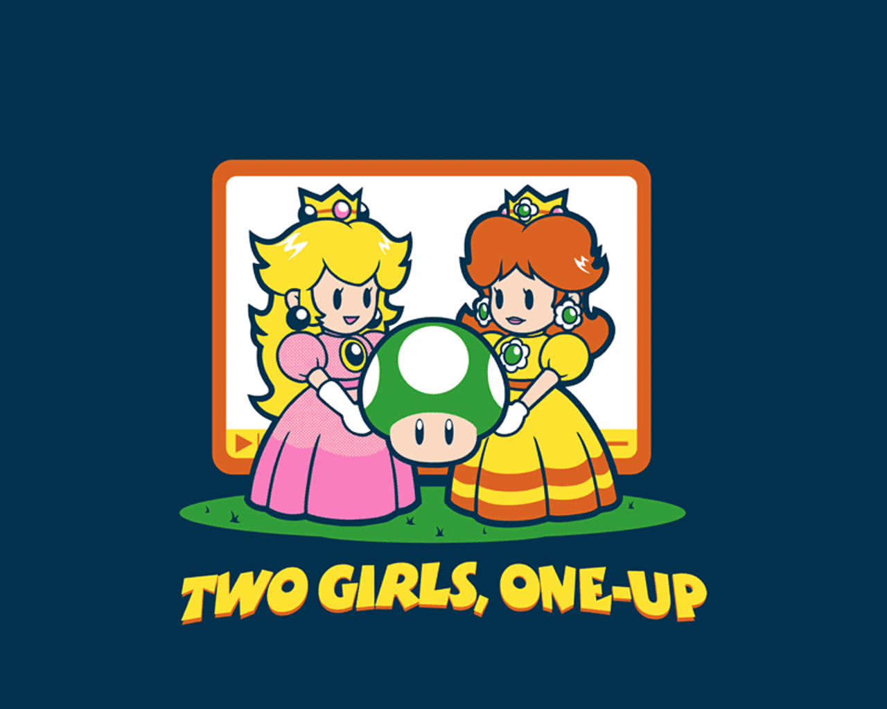 Princess Peach & Daisy