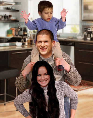 Prison Break - Michael, Sara, MJ
