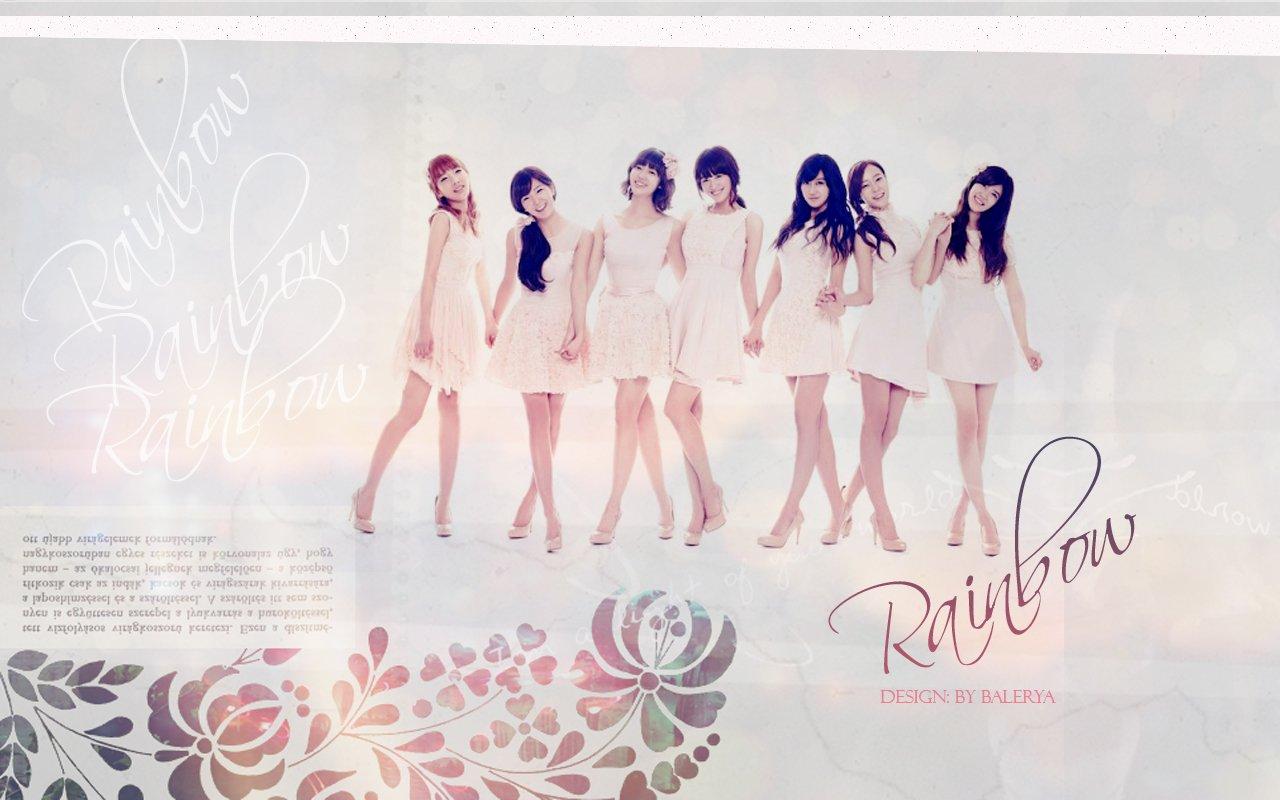 Rainbow Wp Rainbow Korean Band Wallpaper 25704019 Fanpop