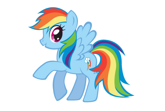 My Little Pony Friendship is Magic Rainbow Dash