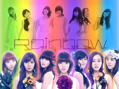 Rainbow (Korean band) wallpaper probably containing a portrait titled Rainbow WP