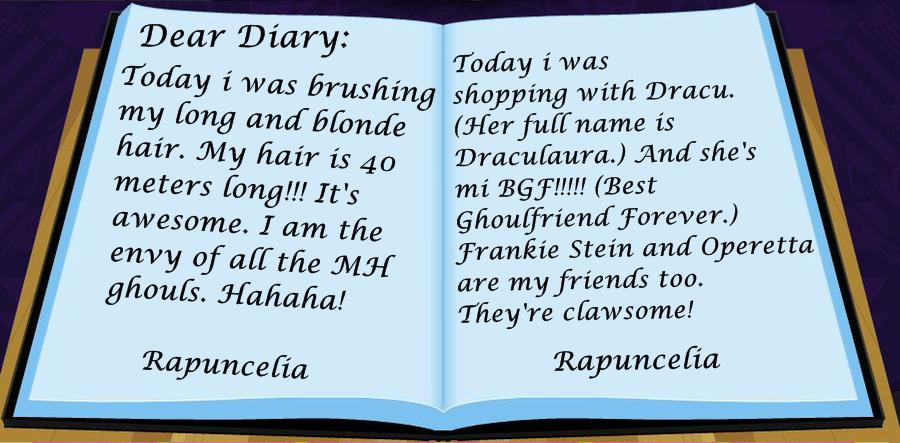Rapuncelia's Diary