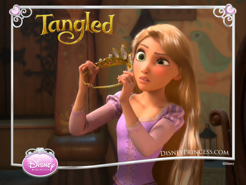 Rapunzel Wallpaper - tangled Wallpaper