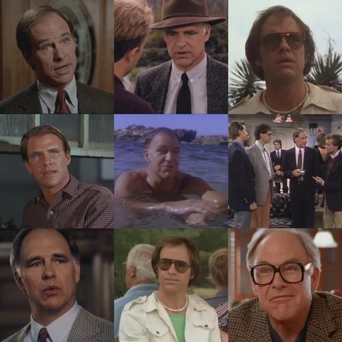 Robert Pine in various roles