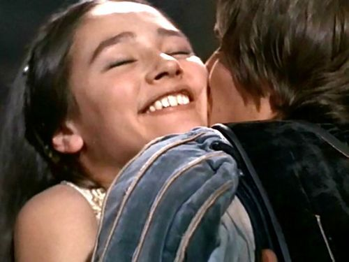 Romantic Movie Moments fond d'écran called Romeo and Juliet (1968)