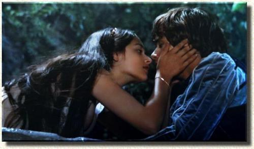 Romantic Movie Moments fond d'écran containing a portrait entitled Romeo and Juliet (1968)