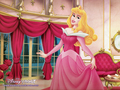 SLEEPING BEAUTY IN PINK DRESS - sleeping-beauty wallpaper