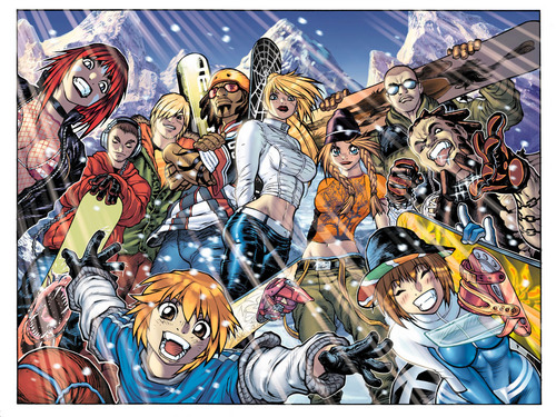 SSX 3 Group