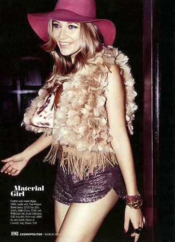 Sarah Roemer for Cosmopolitan Shoot