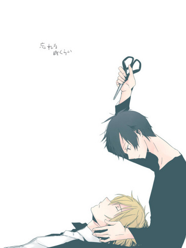 Shuzio and Izaya